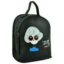 Рюкзак из Экокожи мини (арт. 201329) цвет черный
