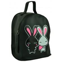 Рюкзак из Экокожи мини (арт. 201075) цвет черный