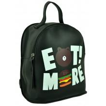 Рюкзак из Экокожи мини (арт. 201239) цвет черный