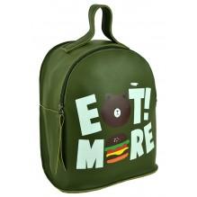 Рюкзак из Экокожи мини (арт. 201426) цвет зеленый