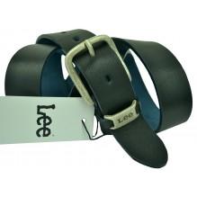 Мужской кожаный ремень Lee черный (арт. 104503)