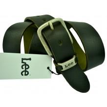Мужской кожаный ремень Lee черный (арт. 104504)