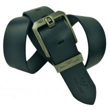 Мужской кожаный ремень Giorgio Armani черный (арт. 104241)