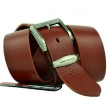 Мужской кожаный ремень Tommy Hilfiger коричневый (арт. 104267)