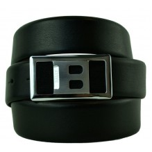 Мужской кожаный ремень BALLY черный (арт. 104568)