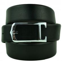 Мужской кожаный ремень Cartier черный (арт. 104570)