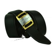 Мужской кожаный ремень Salvatore Ferragamo черный (арт. 104603)
