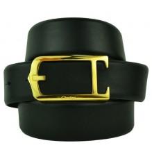 Мужской кожаный ремень Cartier черный (арт. 104620)