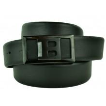 Мужской кожаный ремень BALLY черный (арт. 104624)