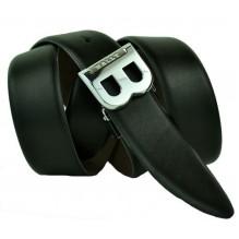 Мужской кожаный ремень BALLY черный (арт. 104625)