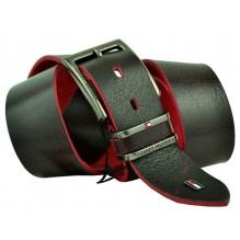 Мужской кожаный ремень Tommy Hilfiger черный (арт. 104272)