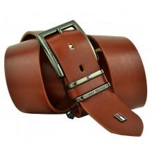 Мужской кожаный ремень Tommy Hilfiger коричневый (арт. 104273)