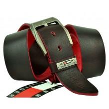 Мужской кожаный ремень Tommy Hilfiger темно-коричневый (арт. 104278)