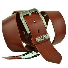 Мужской кожаный ремень Tommy Hilfiger коричневый (арт. 104279)