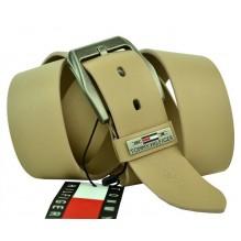 Мужской кожаный ремень Tommy Hilfiger кремовый (арт. 104280)