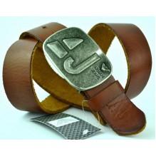 Мужской кожаный ремень Giorgio Armani коричневый (арт. 104209)