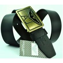 Мужской кожаный ремень Giorgio Armani черный (арт. 104215)