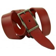 Женский кожаный ремень Nina Ricci красный (арт. 104627)