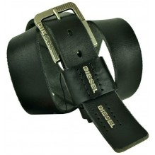 Мужской кожаный ремень Diesel черный (арт. 104360)