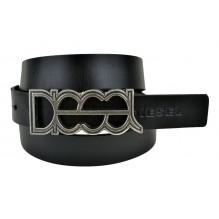 Мужской кожаный ремень Diesel черный (арт. 104361)