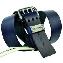 Мужской кожаный ремень Diesel темно-синий (арт. 104525)