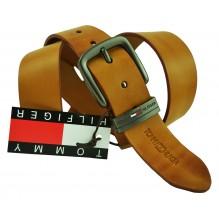 Мужской кожаный ремень Tommy Hilfiger коричневый (арт. 104300)