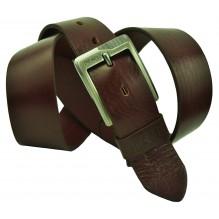 Мужской кожаный ремень Diesel темно-коричневый (арт. 104369)