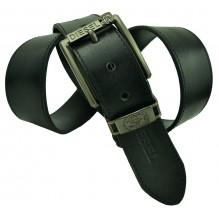 Мужской кожаный ремень Diesel черный (арт. 104372)