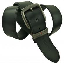 Мужской кожаный ремень Tommy Hilfiger черный (арт. 104304)