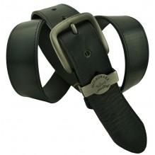 Мужской кожаный ремень Paul SHARK черный (арт. 104379)