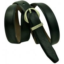 Женский кожаный ремень Calvin Klein черный (арт. 104627)