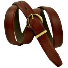 Женский кожаный ремень Calvin Klein темно-коричневый (арт. 104627)