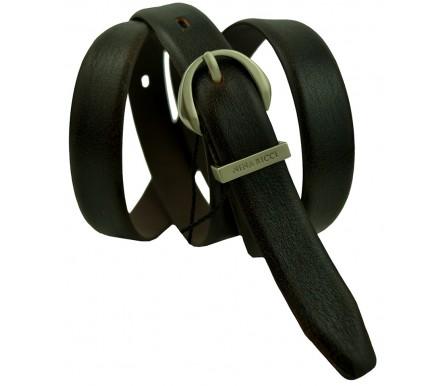 Женский кожаный ремень Nina Ricci темно-коричневый (арт. 104627) Nina Ricci