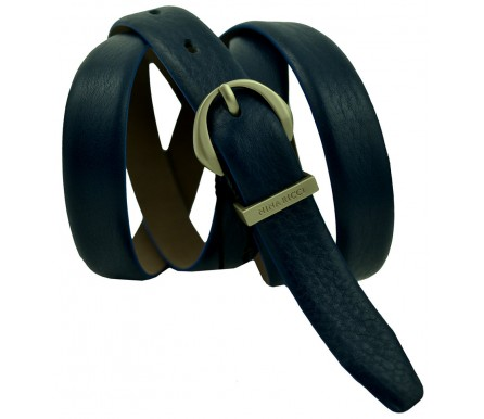 Женский кожаный ремень Nina Ricci темно-синий (арт. 104627) Nina Ricci