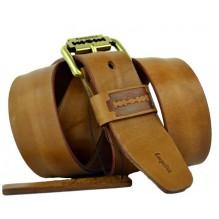 Мужской кожаный ремень Е quiero коричневый (арт. 104416)