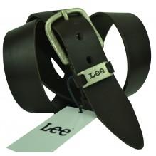 Мужской кожаный ремень Lee темно-коричневый (арт. 104500)