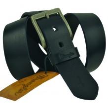 Мужской кожаный ремень Wrangler черный (арт. 104494)