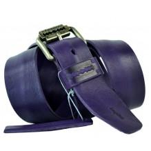 Мужской кожаный ремень Е quiero фиолетовый (арт. 104418)